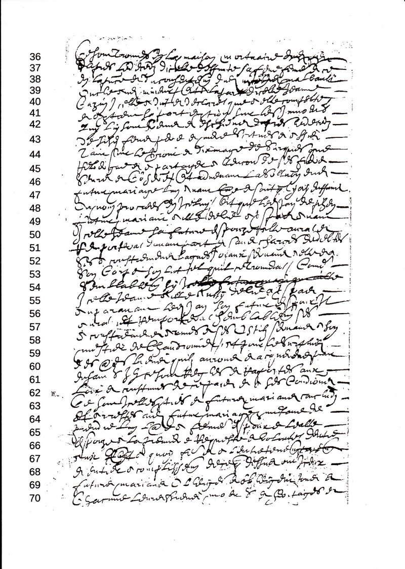 contrat Mariage Pihen Cazin 1647 1647_x10