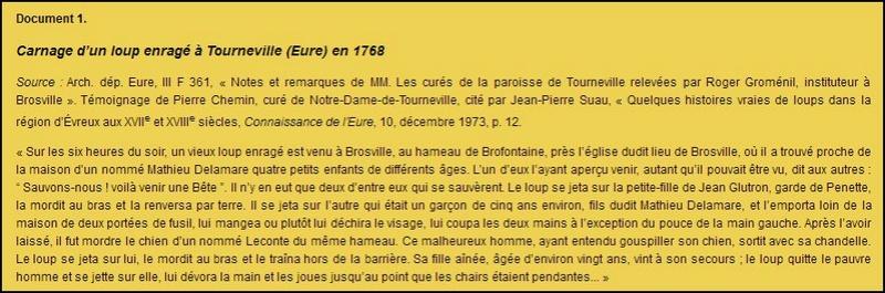 Tourneville (Eure) Loup enragé Captur10