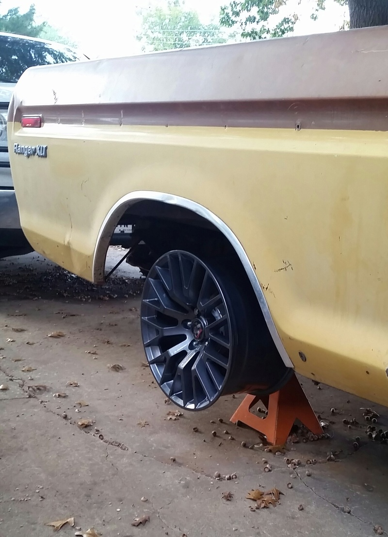 The F250 to F100 turbo project - it's alive. 2016-110