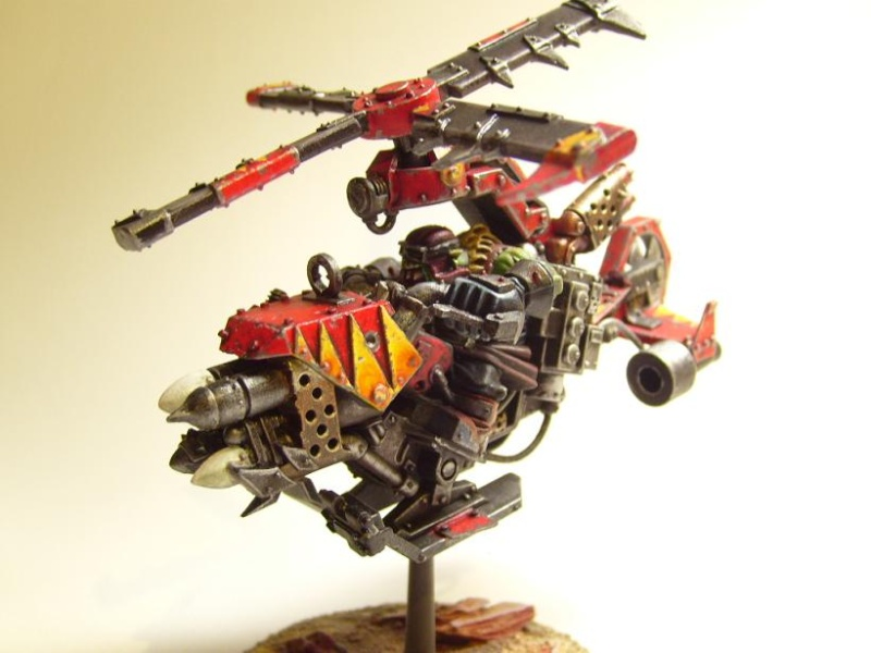 Sanctus reach storm claw Kopter10