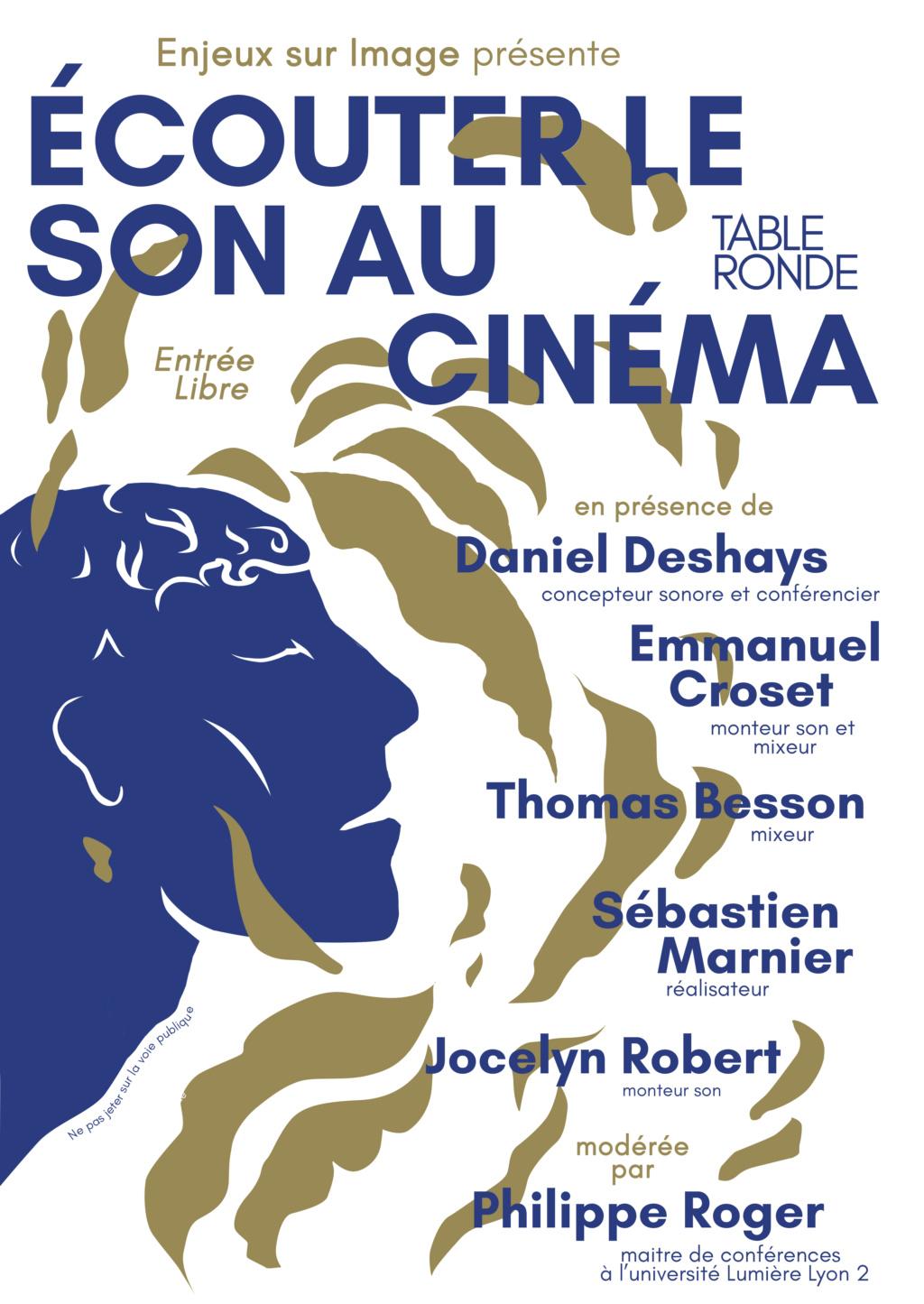 Table ronde Ecouter le son au cinéma Flyer_10