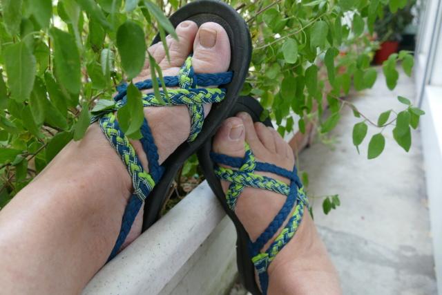 6 juillet : nos pieds P1340313