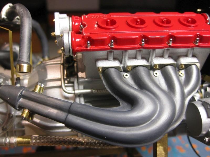 Ferrari F40 von Pocher 1:8 mit autograph Transkit gebaut von Paperstev Krymme14
