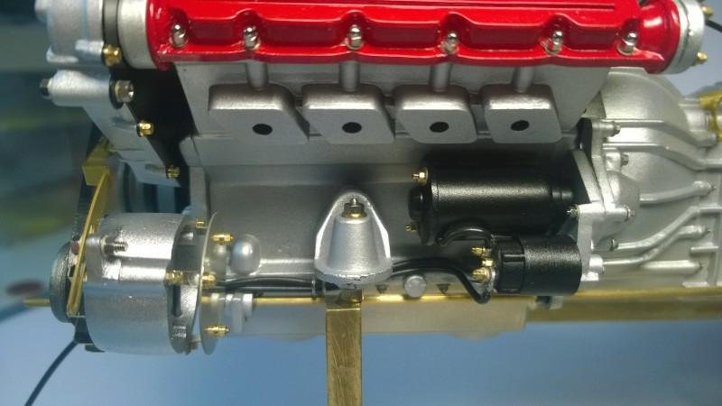 Ferrari F40 von Pocher 1:8 mit autograph Transkit gebaut von Paperstev Riemen16