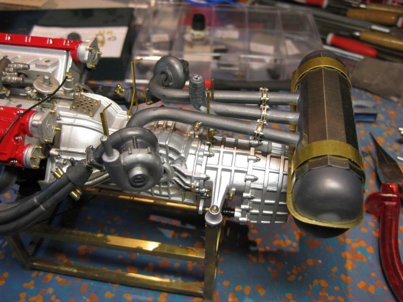 Ferrari F40 von Pocher 1:8 mit autograph Transkit gebaut von Paperstev Turbo_16