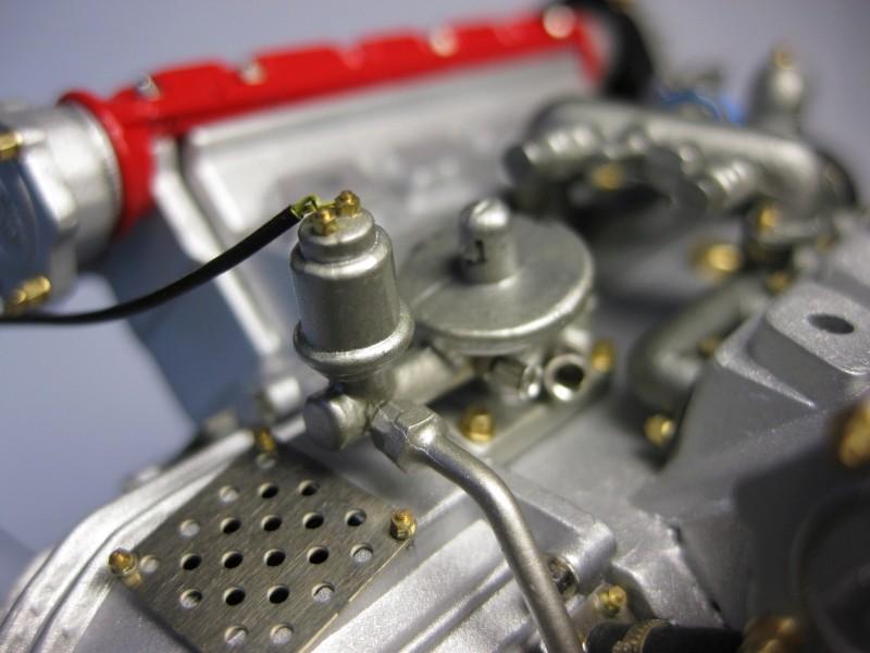 Ferrari F40 von Pocher 1:8 mit autograph Transkit gebaut von Paperstev Yulfil10