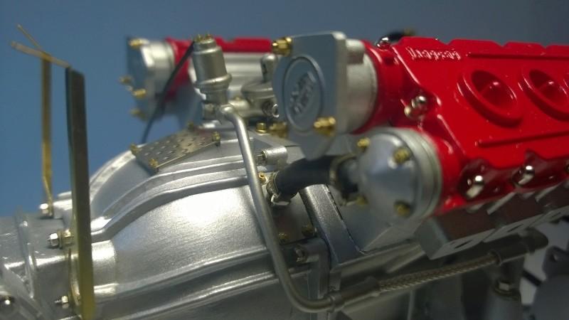Ferrari F40 von Pocher 1:8 mit autograph Transkit gebaut von Paperstev Yulfil11