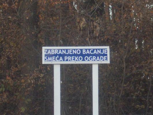 Novi znakovi upozorenja na groblju Babin Greb A_upoz11