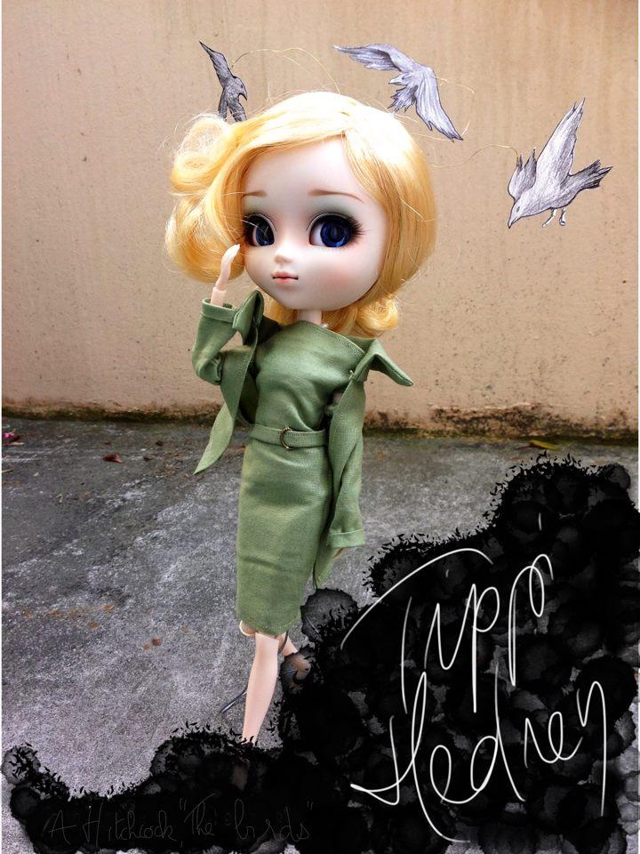 Pullip act! Transformations de Pullips: Tippi Hedren 52186811