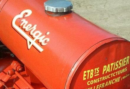 energic - Autocollans pour tracteurs et motoculteurs Energic 9049_510