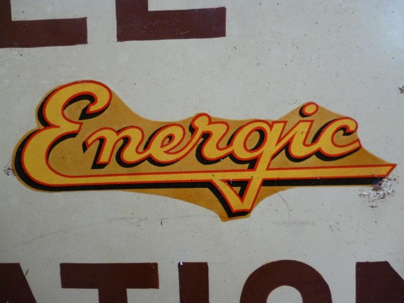 energic - Autocollans pour tracteurs et motoculteurs Energic P1020511