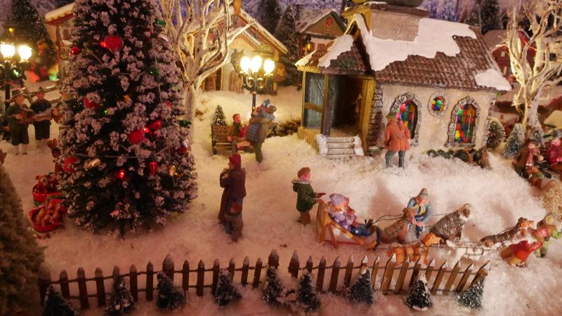 Village de Noël 2016 de Céline P1020226