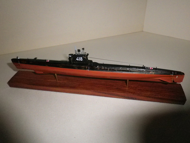 Sous -marins Russe Projet 613 classe Whisky III  Mikromir 1/350 Imgp4512