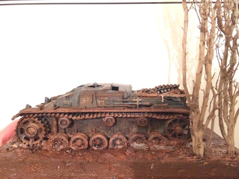 Stug III 1/35 dragon abandonné !!!!  Img_0615