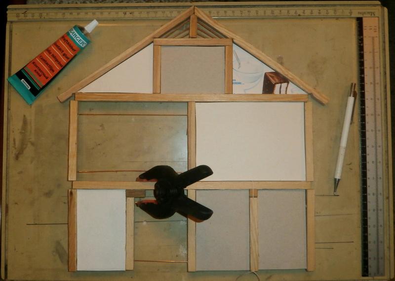 germanenhaus zur figurengr e 7 cm. Black Bedroom Furniture Sets. Home Design Ideas