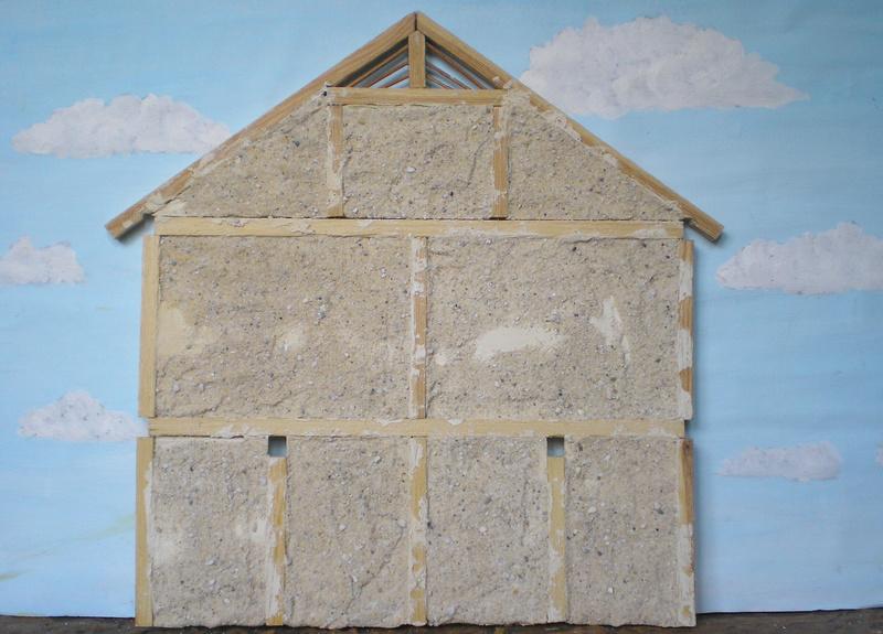 Germanenhaus zur Figurengröße 7 cm 019b3b16