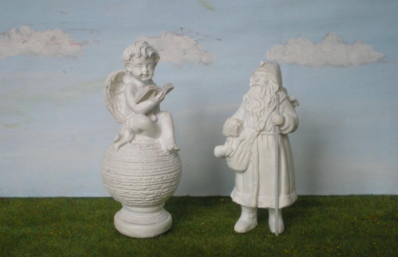 Figuren zur Weihnachtsdekoration - meine Sammlung, Restaurierungen & Bemalungen 196a_w11