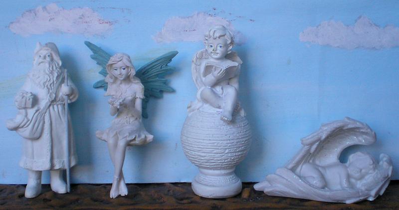 Figuren zur Weihnachtsdekoration - meine Sammlung, Restaurierungen & Bemalungen 196c2_11
