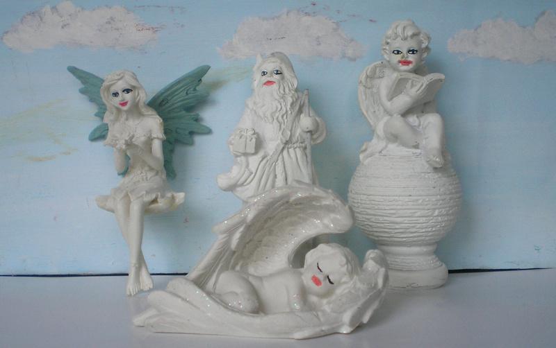 Figuren zur Weihnachtsdekoration - meine Sammlung, Restaurierungen & Bemalungen 196c3_11
