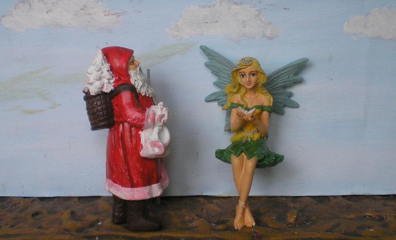 Figuren zur Weihnachtsdekoration - meine Sammlung, Restaurierungen & Bemalungen 196e2_10