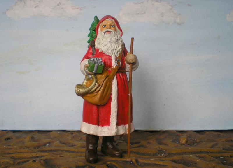 Figuren zur Weihnachtsdekoration - meine Sammlung, Restaurierungen & Bemalungen - Seite 2 196e8b11
