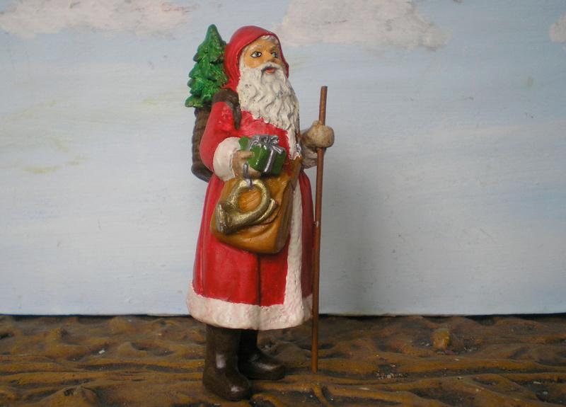 Figuren zur Weihnachtsdekoration - meine Sammlung, Restaurierungen & Bemalungen - Seite 2 196e8b14