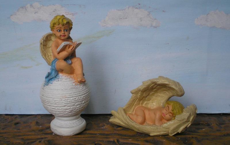 Figuren zur Weihnachtsdekoration - meine Sammlung, Restaurierungen & Bemalungen 196f1_10