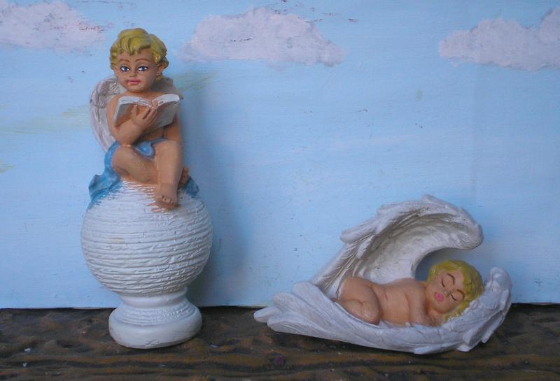 Figuren zur Weihnachtsdekoration - meine Sammlung, Restaurierungen & Bemalungen 196f2_11