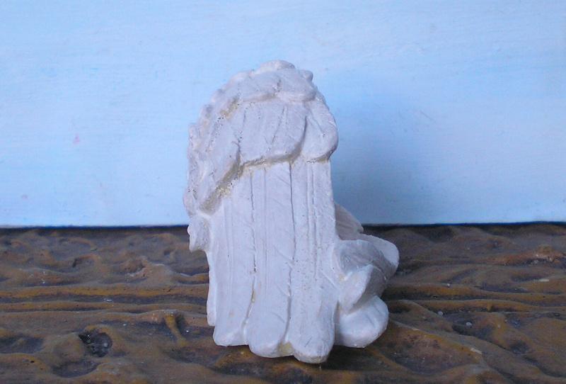 Figuren zur Weihnachtsdekoration - meine Sammlung, Restaurierungen & Bemalungen 196f3c11