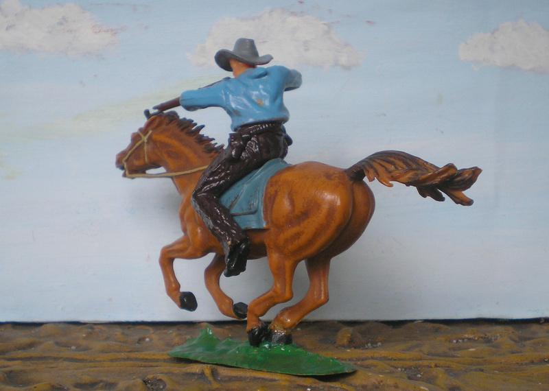 Bemalungen, Umbauten, Modellierungen - neue Cowboys für meine Dioramen - Seite 4 Elasto17