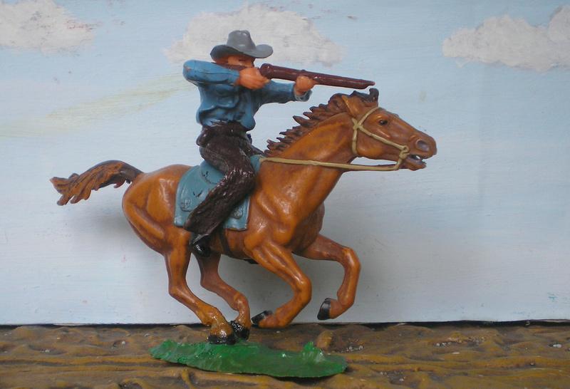 Bemalungen, Umbauten, Modellierungen - neue Cowboys für meine Dioramen - Seite 4 Elasto18
