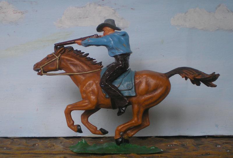 Bemalungen, Umbauten, Modellierungen - neue Cowboys für meine Dioramen - Seite 4 Elasto19