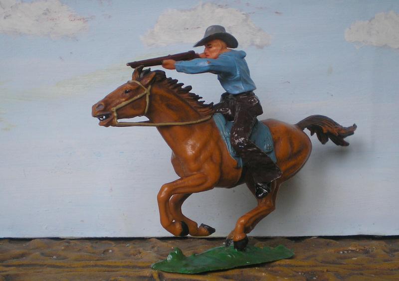 Bemalungen, Umbauten, Modellierungen - neue Cowboys für meine Dioramen - Seite 4 Elasto20