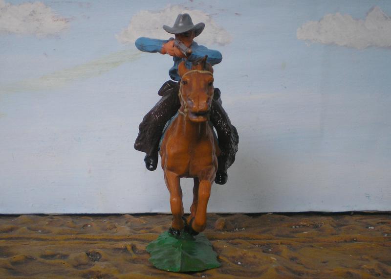 Bemalungen, Umbauten, Modellierungen - neue Cowboys für meine Dioramen - Seite 4 Elasto21