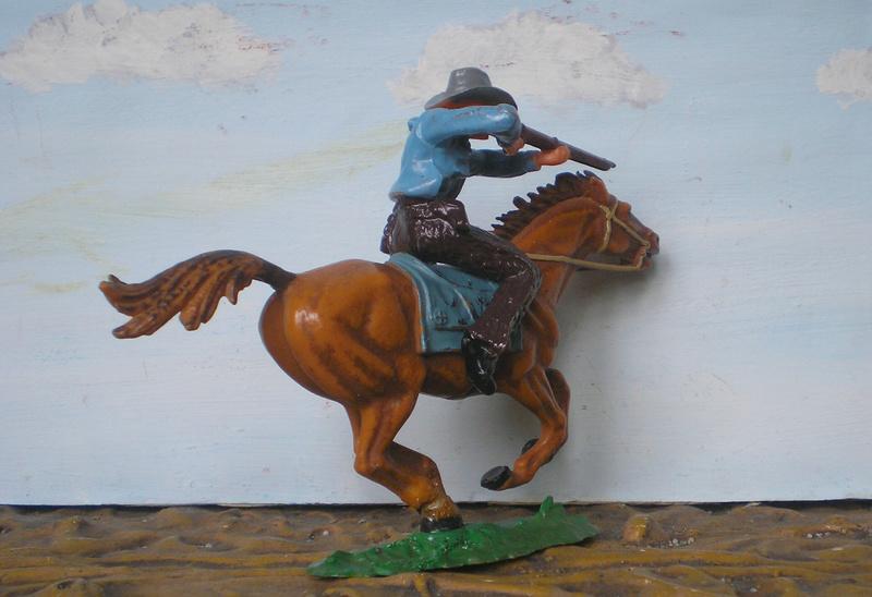 Bemalungen, Umbauten, Modellierungen - neue Cowboys für meine Dioramen - Seite 4 Elasto22