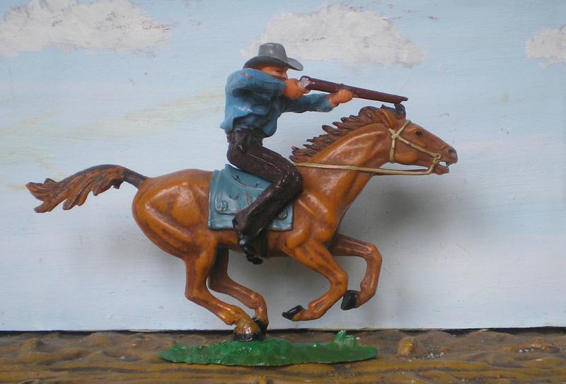 Bemalungen, Umbauten, Modellierungen - neue Cowboys für meine Dioramen - Seite 4 Elasto23