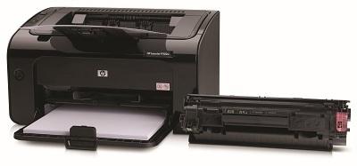 Cài đặt HP LaserJet P1102w để in qua mạng không dây Hp-las10