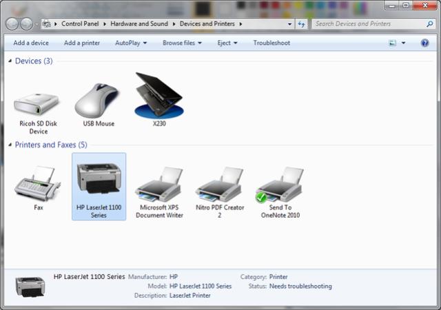 Cài đặt HP LaserJet P1102w để in qua mạng không dây Hp1b11