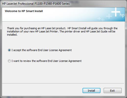 Cài đặt HP LaserJet P1102w để in qua mạng không dây Hp3a10