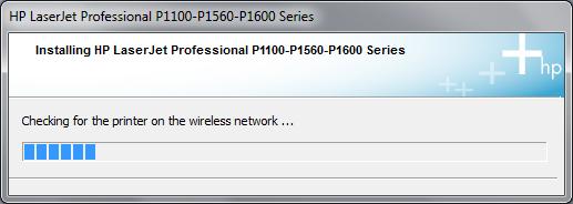 Cài đặt HP LaserJet P1102w để in qua mạng không dây Hp3d10