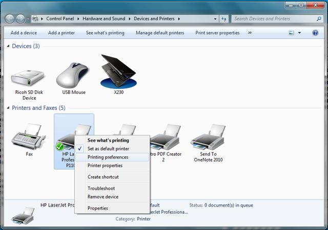 Cài đặt HP LaserJet P1102w để in qua mạng không dây Hp510