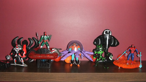 FS: Spider-Man TAS, various Marvel Legends/Select, Gears of War + more Web_sp10