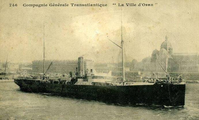 Paquebot Ville d'Oran La_vil10