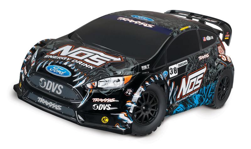 [NEW] NOS Deegan 38 Fiesta ST Rally 1/10 par Traxxas 74054-11