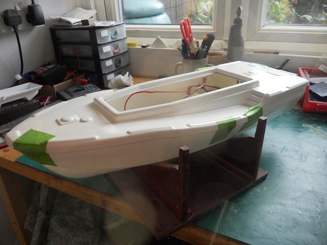 Model Slipway Rescue Boat Dscn0337