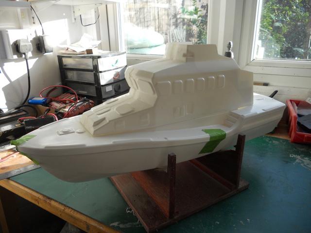 Model Slipway Rescue Boat Dscn0338