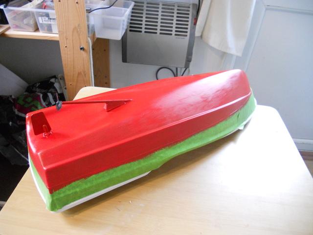 Model Slipway Rescue Boat Dscn0344