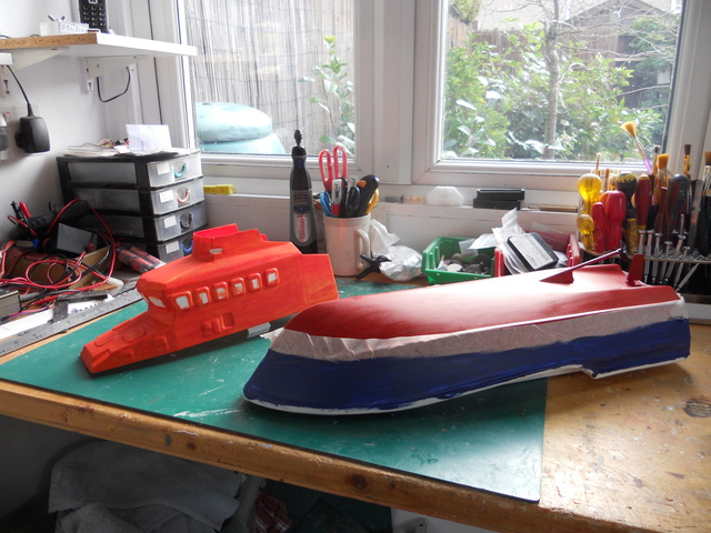 Model Slipway Rescue Boat Dscn0346