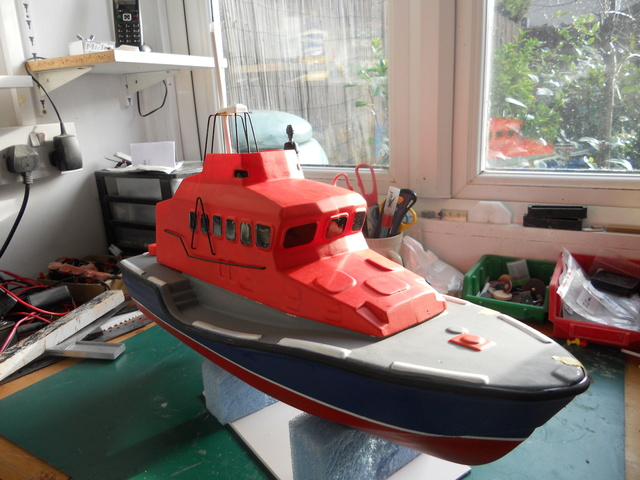 Model Slipway Rescue Boat Dscn0347