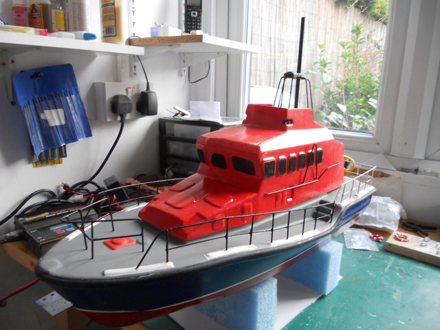Model Slipway Rescue Boat Dscn0348